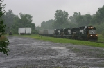 NS 212 Moving East In Heavy Rainstorm @ 0814 hrs.
